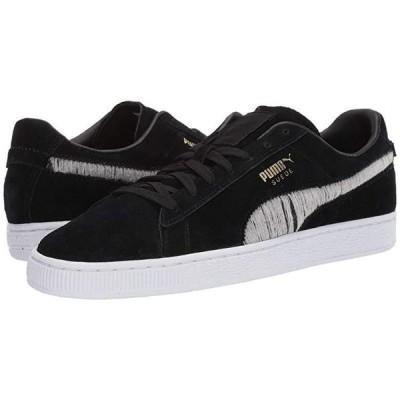 プーマ Suede Ripped Denim メンズ スニーカー 靴 シューズ Puma Black/Puma Black/Puma White