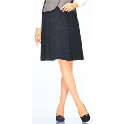 FS45728-9 ソフトプリーツスカート(9号:54cm丈) 全1色 (フォーク FOLK ヌーヴォ NUOVO 事務服 制服)