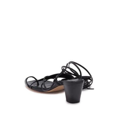 マージュ レディース サンダル シューズ Lace Up Sandal BLACK