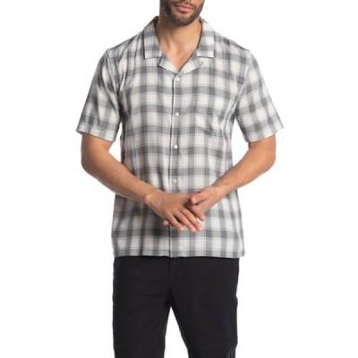 ボールドウィンデニム メンズ シャツ トップス Cabus Button Front Shirt LIGHT GREY