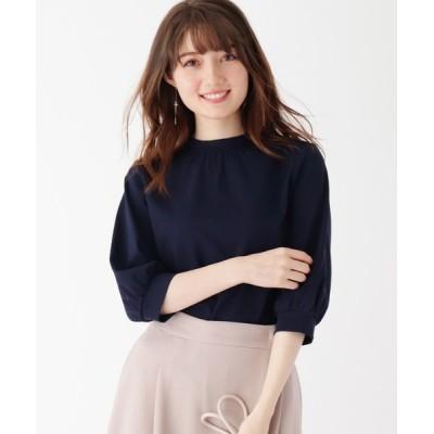 index / シルケットポンチスタンドカラープルオーバー【WEB限定サイズ】 WOMEN トップス > Tシャツ/カットソー