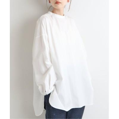 【イエナ】 コットンブロードバックボタンシャツ◆ レディース ホワイト フリー IENA