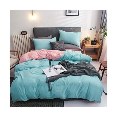 布団カバー セミダブル 掛け布団カバー 3点セット ボックスシーツ 枕カバー 洋式・和式兼用 ベッド用 布団用