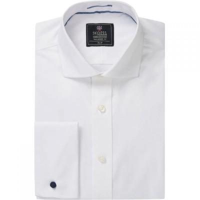 スコープス Skopes メンズ トップス Luxury Collection Formal Shirts White