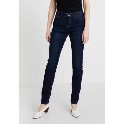 エスプリ デニムパンツ レディース ボトムス Slim fit jeans - blue dark wash