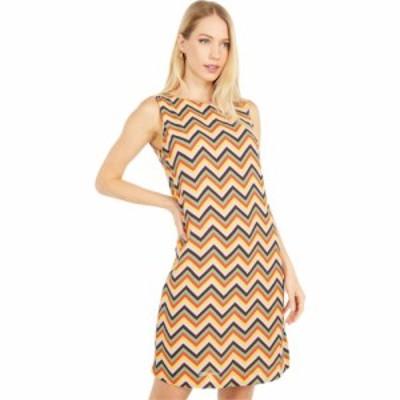 ミッソーニ M Missoni レディース ワンピース シフトドレス ノースリーブ ワンピース・ドレス Sleeveless Zigzag Print Shift Dress Yell