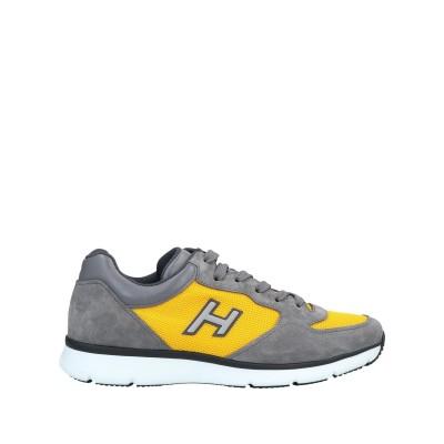 ホーガン HOGAN スニーカー&テニスシューズ(ローカット) グレー 7.5 革 スニーカー&テニスシューズ(ローカット)