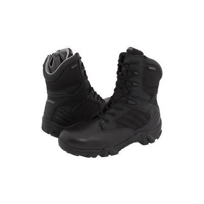 Bates Footwear ベイツ メンズ 男性用 シューズ 靴 ブーツ 安全靴 ワーカーブーツ GX-8 GORE-TEX(R) Side-Zip - Black