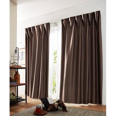 【送料無料!】シルキーカラー防炎カーテン ドレープカーテン(遮光あり・なし) Curtains, blackout curtains, thermal curtains, Drape(ニッセン、nissen)