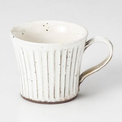 和食器 粉引 そぎ反 マグカップ コーヒー 珈琲 紅茶 カフェ おしゃれ 陶器 うつわ おうち 軽井沢 春日井 ギフト