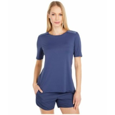 コロンビア レディース シャツ トップス Chill River¢ Short Sleeve Shirt Nocturnal/Nocturnal Print