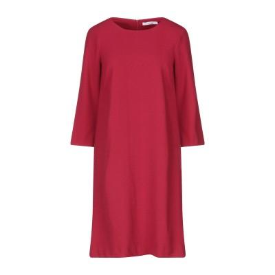 LANACAPRINA ミニワンピース&ドレス レッド 40 ポリエステル 95% / ポリウレタン 5% ミニワンピース&ドレス