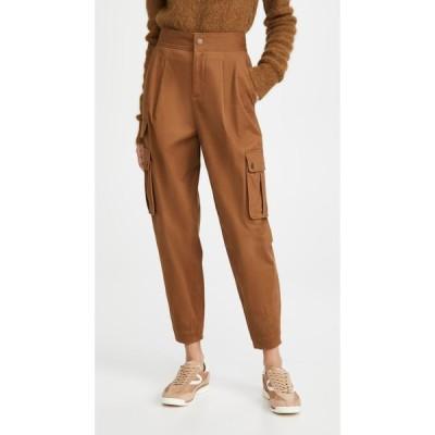 アリス アンド オリビア alice + olivia レディース カーゴパンツ アンクル ボトムス・パンツ Clarkson Ankle Cargo Pants Camel