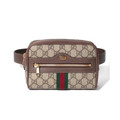 【グッチ】 Ophidia GG Supreme Small Belt Bag ユニセックス Beige F GUCCI