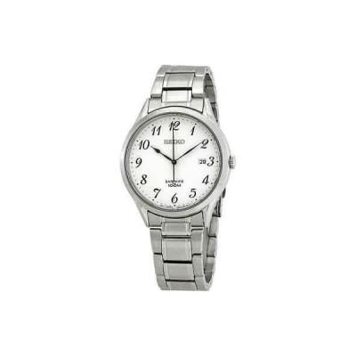 腕時計 セイコー メンズ Seiko Sapphire Silver Dial Men's Watch SGEH73P1