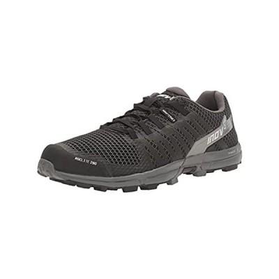 Inov-8 Men's Roclite 290 Trail Running Shoe, Black/Grey, 12.5 N US