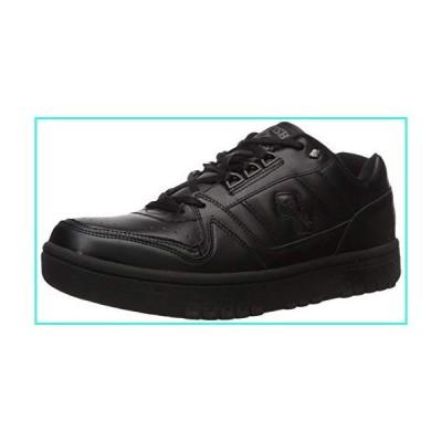 【新品】British Knights Men's Kings SL Low Fashion Sneaker, Black(並行輸入品)
