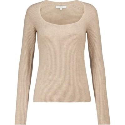 ヴィンス Vince レディース ニット・セーター トップス Ribbed-knit cashmere sweater Smokey Quartz