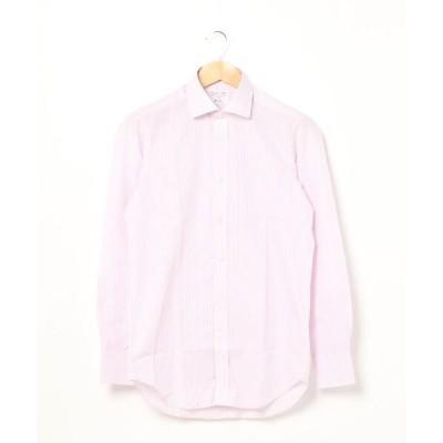 Brilla per il gusto / オルタネイト ストライプ ワイドカラー シャツ