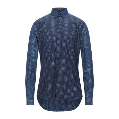 HARMONT&BLAINE シャツ ダークブルー S コットン 100% シャツ