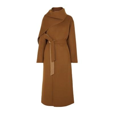 DEVEAUX コート キャメル 2 ウール 100% コート