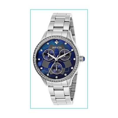 Invicta Women's Angel Steel Bracelet & Case Quartz Blue Dial Analog Watch 29091【並行輸入品】