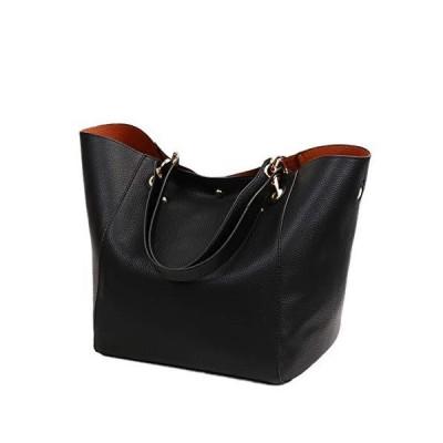 [コウサ] cousaトートバッグ大容量2wayビジネスバッグ マザーズバッグa4 通勤バッグ通学バッグ就活リクルート (ブラック)
