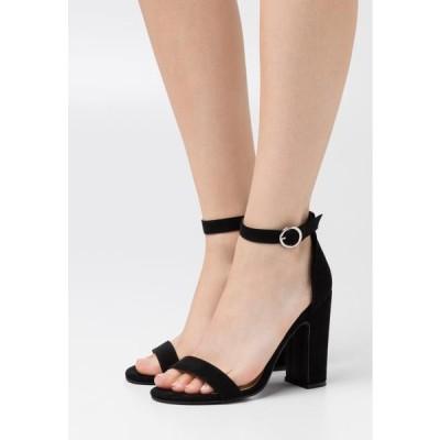 アンナフィールド レディース 靴 シューズ High heeled sandals - black