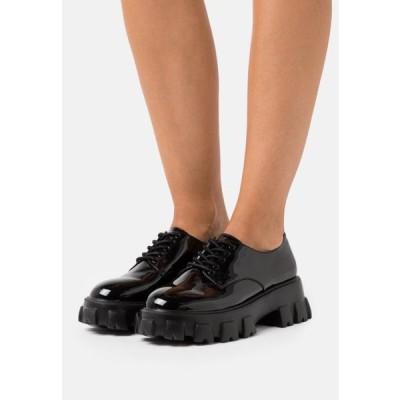 レディース 靴 シューズ BITE IT DERBY - Lace-ups - black
