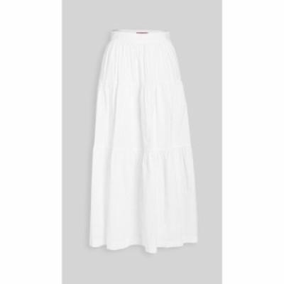 スタウド STAUD レディース スカート sea skirt White