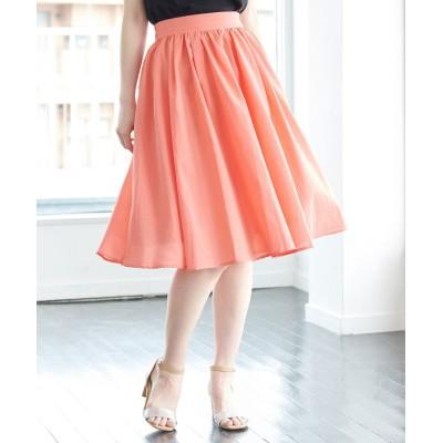 (ROPE' PICNIC/ロペピクニック)【着丈が選べる】タックベルトサップギャザースカート/レディース ピンク系(65)