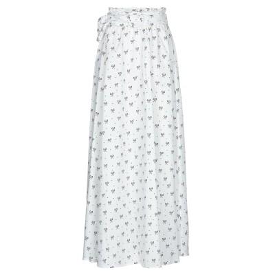 VIVETTA ロングスカート ホワイト 44 コットン 100% ロングスカート