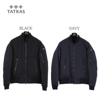 TATRAS タトラス SALICE(サリチェ) MTA18A4524 ダウンジャケット メンズ BLACK ブラック NAVY ネイビー MA1