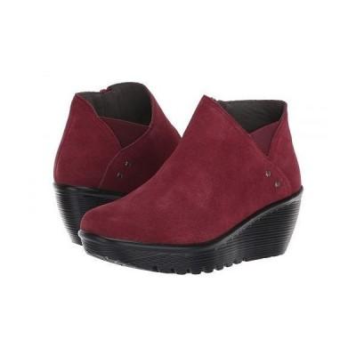 SKECHERS スケッチャーズ レディース 女性用 シューズ 靴 ブーツ アンクルブーツ ショート Parallel Ditto - Burgundy