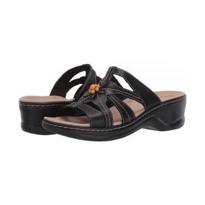 Clarks クラークス レディース 女性用 シューズ 靴 ヒール Lexi Myrtle 2 - Black Leather