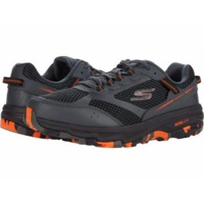 SKECHERS スケッチャーズ メンズ 男性用 シューズ 靴 スニーカー 運動靴 Go Run Trail Altitude Marble Charcoal/Orange【送料無料】