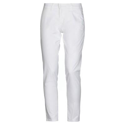 MR MASSIMO REBECCHI パンツ ホワイト 46 コットン 97% / ポリウレタン 3% パンツ