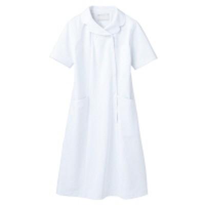 住商モンブラン住商モンブラン ナースワンピース(半袖) 医療白衣 白 M 73-1772(直送品)