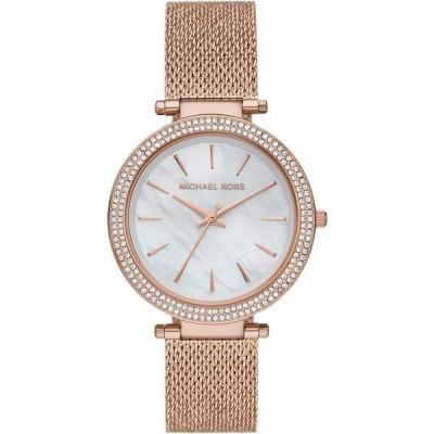 マイケルコース 腕時計 アクセサリー レディース Women's Darci Rose Gold-Tone Stainless Steel Mesh Bracelet Watch 39mm Rose Gold