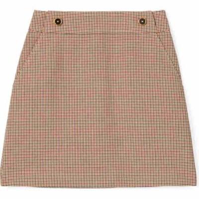 トリー バーチ TORY BURCH レディース ミニスカート スカート Houndstooth Miniskirt Mens Suiting