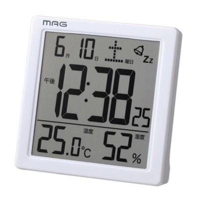 ノア精密 NOA 温湿度表示 カレンダー表示 目覚まし時計 置時計 カッシーニ T-726 WH-Z NOA 正規品