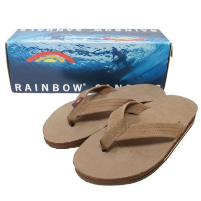 RAINBOW SANDALS レインボーサンダル 302ALTS MENS LEATHER SANDAL DARK BROWN ブラウン