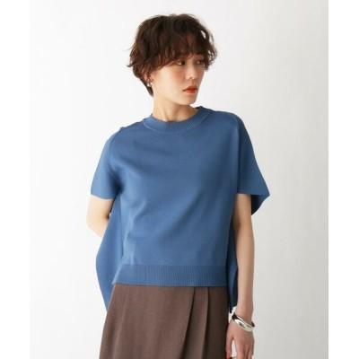 AG by aquagirl/エージー バイ アクアガール 変形スリーブニット ブルー(092) 38(M)