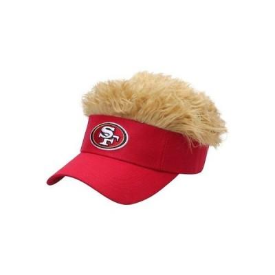 フットボール NFL コンセプトワン San Francisco 49ers Flair Hair Visor