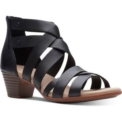 クラークス Clarks レディース サンダル・ミュール シューズ・靴 Collection Valarie Dream Dress Sandals Black Leather