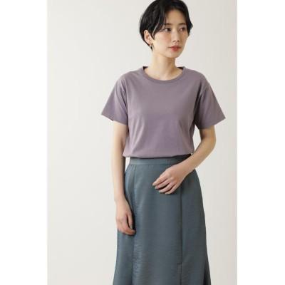 【ローズバッド】 ベーシックTシャツ レディース パープル - ROSE BUD