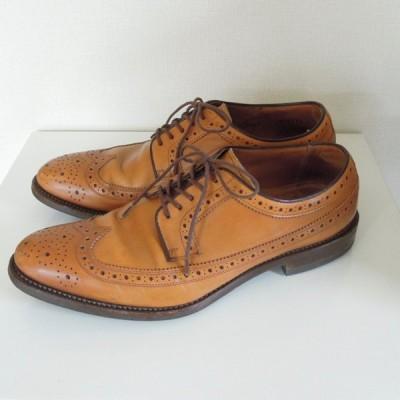 REGAL リーガル 革靴 05KR ウイングチップ AIR ROTATION SYSTEM 明るめの茶色 26(w-1225)