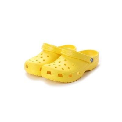 クロックス crocs 10001 CLASSIC CLOG クラシック クロッグ サンダル (レモン)