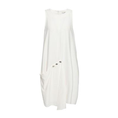 ティビ TIBI ミニワンピース&ドレス ホワイト 8 レーヨン 89% / ナイロン 11% ミニワンピース&ドレス