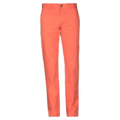 DIRK BIKKEMBERGS パンツ オレンジ 48 コットン 97% / ポリウレタン 3% パンツ
